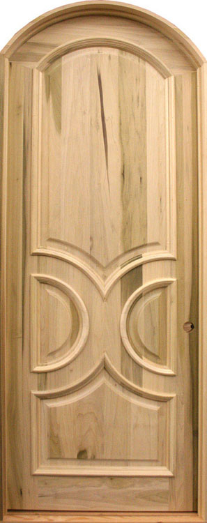 Contemporary Wooden Door