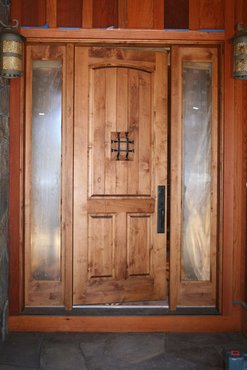 Custom Doors with Hardware