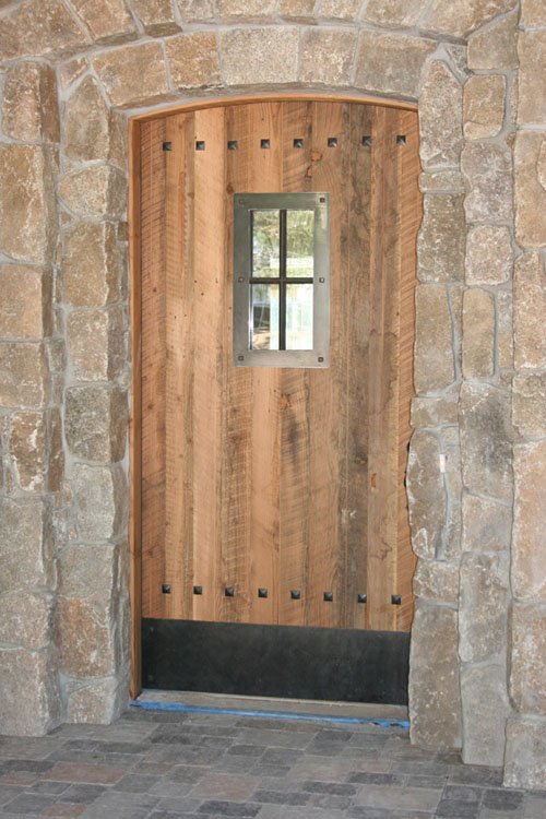 Custom Front Wood Door