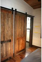 Sliding Recycled Doors