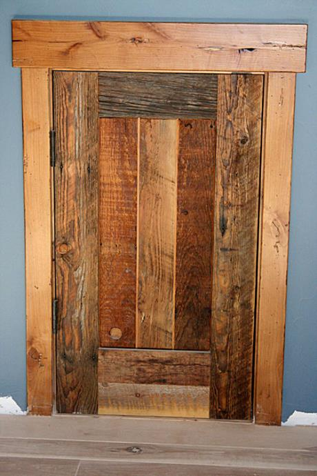 Reclaimed Wood for Doors