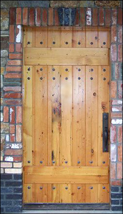 Reclaimed Fir Door