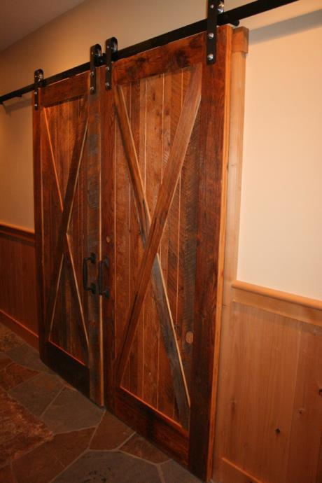 Reclaimed Material Doors