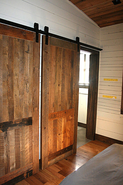 Sliding Recycled Doors & Re-Claimed Material Doors