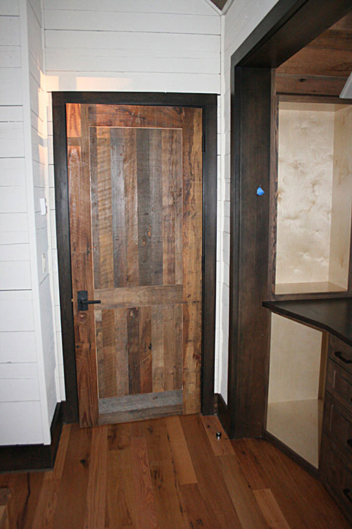 Re claimed material doors for Recycled interior doors